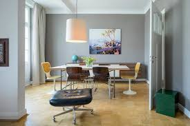 esszimmer in taupe midcentury cologne by