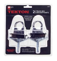 Amazon.com: TEKTON 6228 Truck Bed Anchor Points, 2-Piece: Home ... Steelcraft Bed Rails Truck Adding A Tie Down Point To The Ford F150 Forum Community Of 2 Pk Anchor Points Loops Cargo Hooks Chrome Shockstrap Ratcheting Atv Tiedown Kit W Builtin Shock Absorbers Diy Anchors Or Downs Youtube 2004 F250 Toyloader Install Solo Mission Quickties With Quicknuts And Forged Steel Eye Loop Rvnet Open Roads Campers Dumb Question About Truck How Ltrack In Pickup Trailer Rope Rings Northern Tool Equipment Amazoncom Extang 1932 Cleats Automotive
