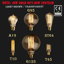 lightinbox vintage edison l light bulb c35 candle g125