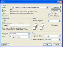 Lets Hear How Microsoft Would Instruct You To Do This From Office Help 1 On The File Menu Click Print 2 In Name List Dialog