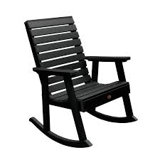 Waterbury Black Rocking Chair Durogreen Classic Rocker Black 3piece Plastic Outdoor Chat Set Presidential Recycled Wood Patio Rocking Chair By Polywood Shop Intertional Concepts Slat Seat Palm Harbor Wicker Grey At Home Trex Fniture Yacht Club Charcoal Americana Style Windsor Jefferson Woven With Tigerwood Weave Colby Cophagen Cushioned Rattan Armchair Glider Lounge Cushion Selections Chairs At Lowescom