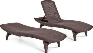 chaise pc keter pc rattan outdoor chaise lounge chairs patio table keter