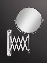 Pivot Bathroom Mirror Chrome Uk by Cosmetic Mirrors With Magnifying Glass Qs Supplies