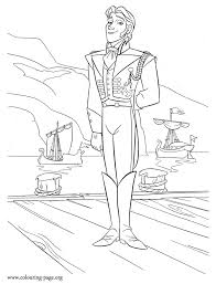 Hans Is A Prince From The Southern Isles Enjoy With This Awesome Coloring Page Disney Movie Frozen