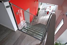 fabrication d un escalier métallique design à lyon kozac