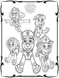 Easter Coloring Pages Paw Patrol Archives At Free