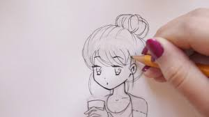 1280x720 Drawing Tutorial How To Draw And Color A Girl With Starbucks