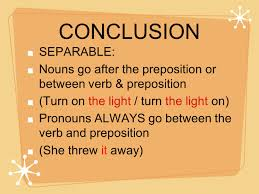 Light Verb by Phrasal Verbs Most Common Complaints Children Have From Their