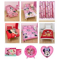 Minnie Mouse Bedding by Minnie Mouse Bedroom U0026 Bedding Accessories Ebay