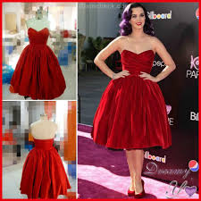 2015 new katy perry ruched sweetheart red short prom dresses red