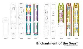 Island Princess Baja Deck Plan by Deck Plan 2 Cruise Enchantment Of The Sea Pinterest Deck