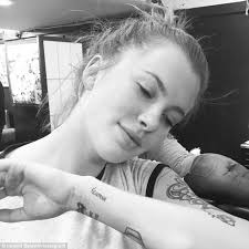 Ireland Baldwin Gets A New Squirrel Tattoo Honouring Her Dad