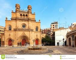 Готический собор на Castellon De Ла Plana Испании Стоковое Фото