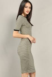 striped ringer t shirt dress shop dresses at papaya clothing
