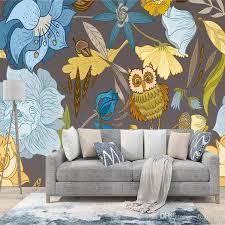 großhandel europäische kinder wandbilder kreative tapeten wohnzimmer tv hintergrund wand benutzerdefinierte wandbilder 3d kunst tapete