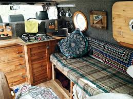Outstanding Camper Decorating Ideas Stunning Van Interior Design Great Truck