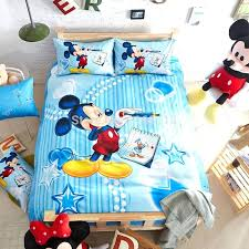 Minnie Mouse Twin Bedding by Mickey Mouse Double Bed Setimage Of Blue Mickey Mouse Twin Bedding