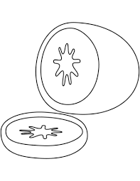 Click To See Printable Version Of Kiwi Coloring Page