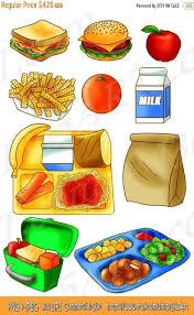 Cute School Lunch Time Clipart Graphics Download By I365art