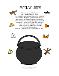 Poems About Halloween For Kindergarten by Mrs Home Ec Halloween Lesson Plan Halloween Party Station Make