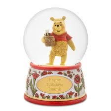 Jim Shore Halloween Disney by Shore Disney Traditions Winnie The Pooh Snow Globe