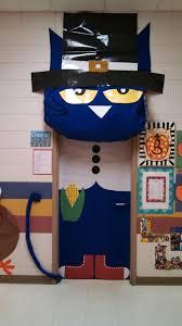 thanksgiving pete the cat classroom door classroom stuff