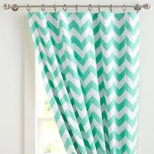 Grey And White Chevron Curtains by Grey And Turquoise Curtains Chevron Blackout Drape Gray At