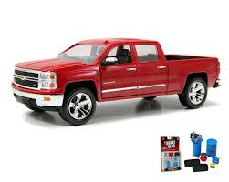 Diecast Car & Garage Diorama Package - Chevy Silverado Pickup Truck ...