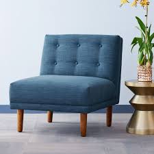West Elm Everett Chair Leather by Rounded Retro Armless Chair West Elm Australia New West Elm