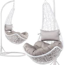 Yaheetech White Hanging Relax Moon Chair Garden Rattan Swing Chair ... 50 Stylish Bedroom Design Ideas Modern Bedrooms Decorating Tips Indoor Haing Chairs All You Need To Know About It 52 For Your The Luxpad 45 Scdinavian Bedroom Ideas That Are Modern And Stylish 40 Lighting Unique Lights For Amazoncom Ljdt Simple Nordic Round Carpet Home Living Room 20 Incredibly Helpful Storage Small Shop Fashion Men Women Industrial Style Essential Guide