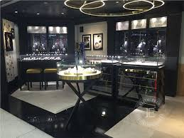 High End Jewelry Store Interior Design Fixtures By Display Cases