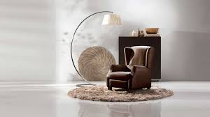 Natuzzi Brown Leather Swivel Chair by Traditional Armchair Fabric Leather Wing Altea Natuzzi