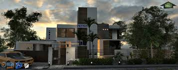 3 Storey House Colors Modern Minimalist House 3 Storey Rooftop Residence J J M Builders