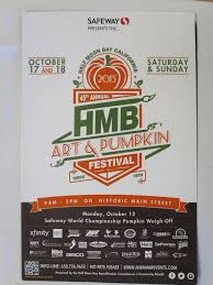 Half Moon Bay Pumpkin Festival Biggest Pumpkin by Foghorn Oct 8 Meeting Rotary Club Of Half Moon Bay