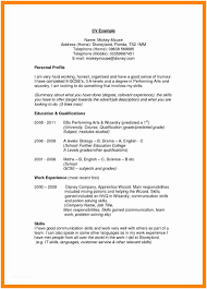 How To Write A Profile For Resume Examples Personal Statements Perfect Of