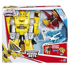 Playskool Heroes Transformers Rescue Bots Knight Watch Bumblebee ...