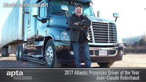 100 Atlantic Trucking 2017 APTA Driver Of The Year Jean Claude Robichaud