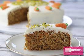 möhrenkuchen mit frischkäse frosting sandras kochblog