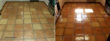 before and after saltillo tile cleaning and sealing yelp