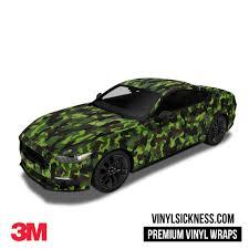 100 Camo Wrap For Truck JUNGLE CAMO WRAP CAR TRUCK VINYL WRAPS VS