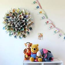 Ideas To Decorate Your Room With Paper Wreath For Wall Decor Newspaper Decorating