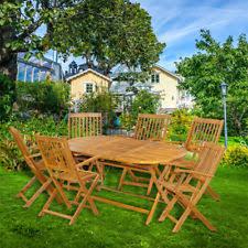 Ebay Patio Furniture Uk by Wooden 7 Pieces Garden U0026 Patio Furniture Sets Ebay