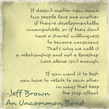 An Excerpt From My New Book An Uncommon Bond Loveship Or