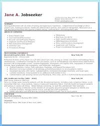 Recent Graduate Resume Template Sample Nursing For New Cv Nurse Practitioner