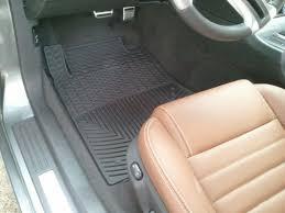 Husky Weatherbeater Floor Mats Canada by Weathertech Mustang Front All Weather Floor Mats Black W178 10