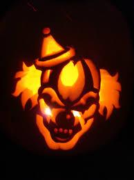 Creepy Clown Pumpkin Stencils by Scary Pumpkin Carving Stencil Evil Clown Erika Glover Flickr