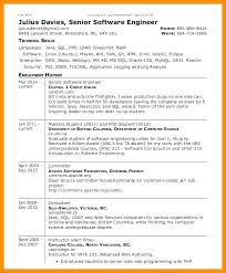 Resume Examples Ubc Combined With Career Resources Student Services