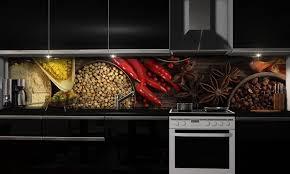 more design küchenrückwand folie selbstklebend bunte gewürze klebefolie in verschiedenen größen fliesenspiegel dekofolie spritzschutz