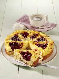 kirschkuchen mit pudding topping kuchen backen