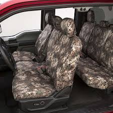 Prym1 Camo Custom Seat Covers For Trucks And SUVs - Covercraft